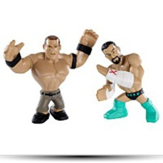 Wwe Rumblers Cm Punk And John Cena Figure