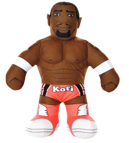 Wwe Brawlin Buddies Kofi Kingston Plush Figure